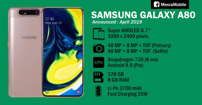 Samsung Galaxy A80 Price In Malaysia RM2499 - MesraMobile